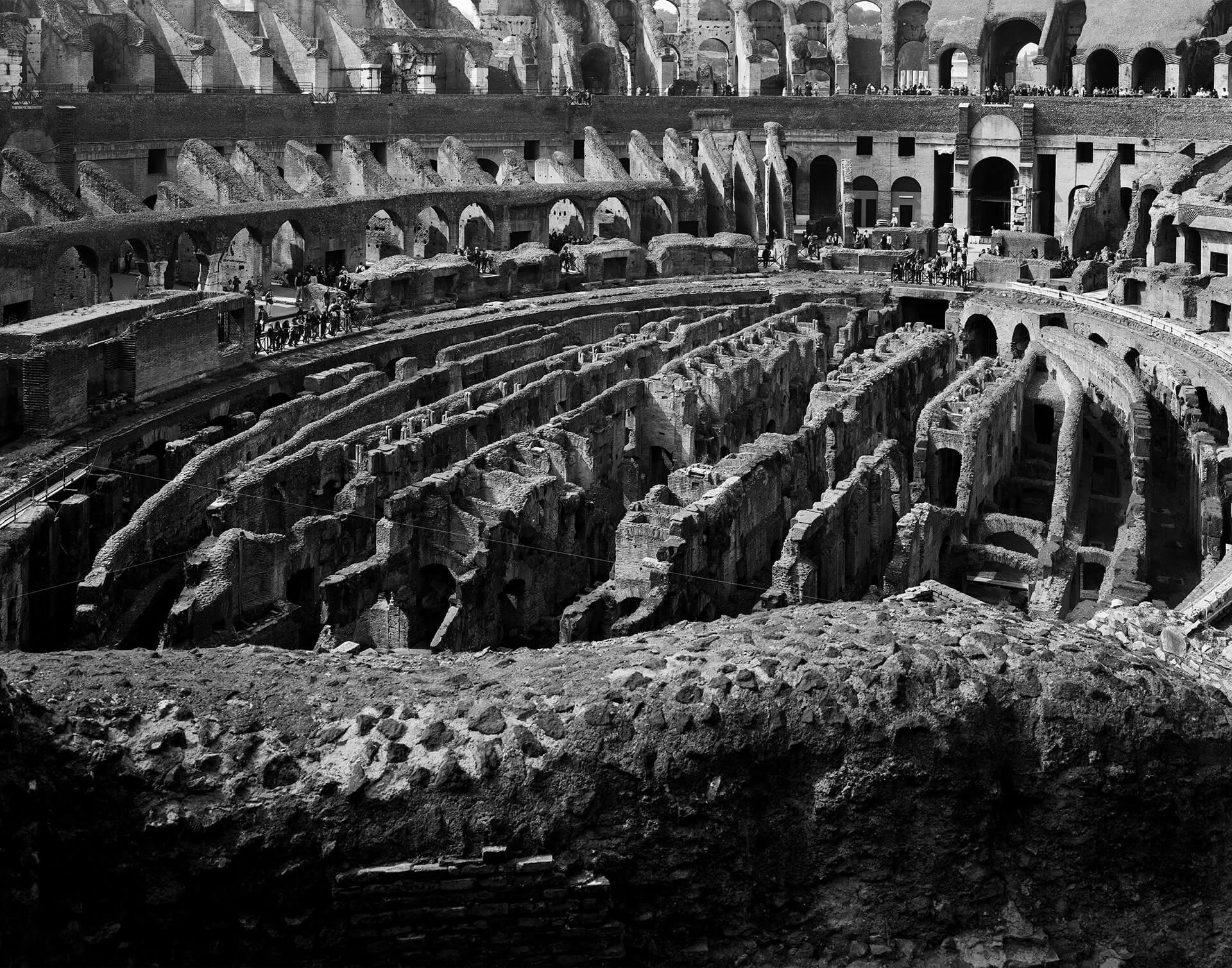 Giuseppe Basilico, Colosseo Roma 2000