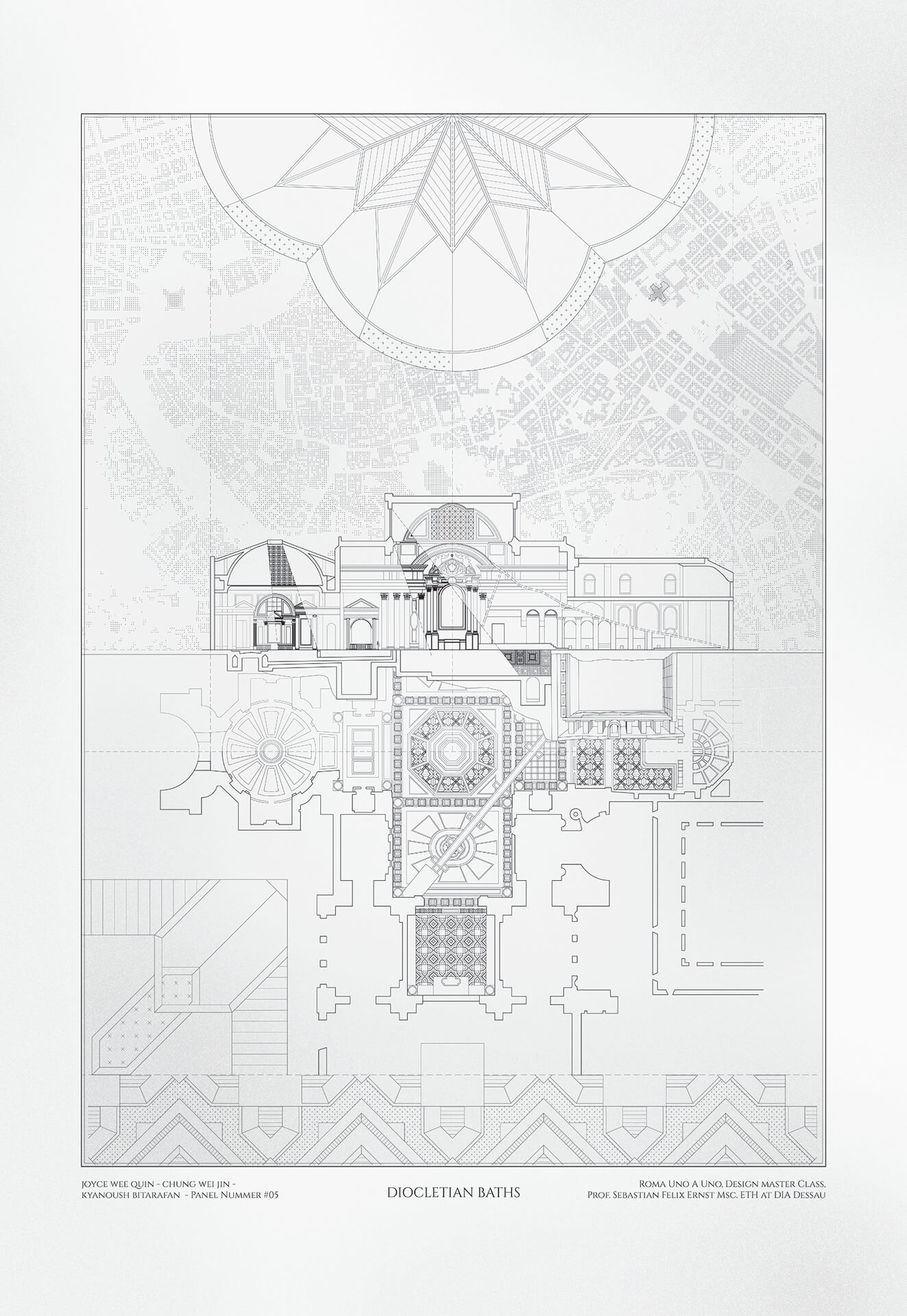 Sebastian Ernst, Architetto Piranesi, 2020