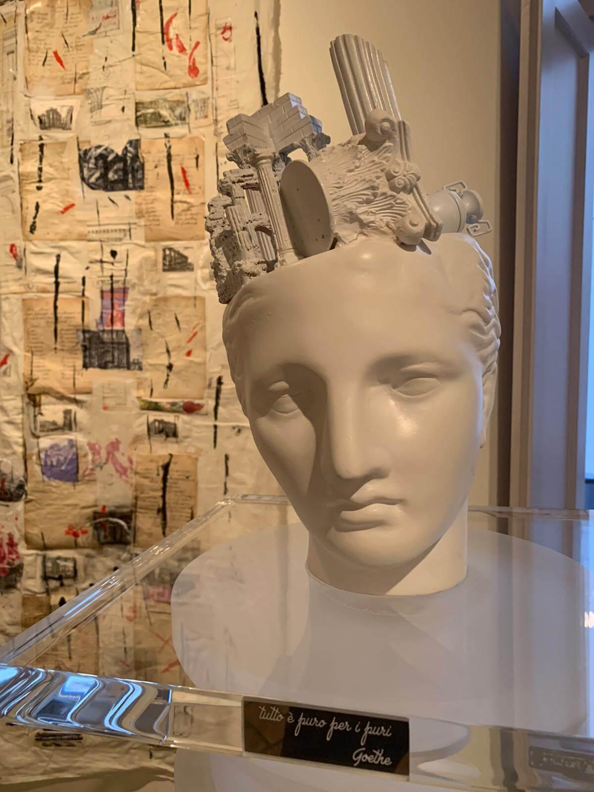 Giulia Pastore, Piranesi Visionario, Skulptur 2020