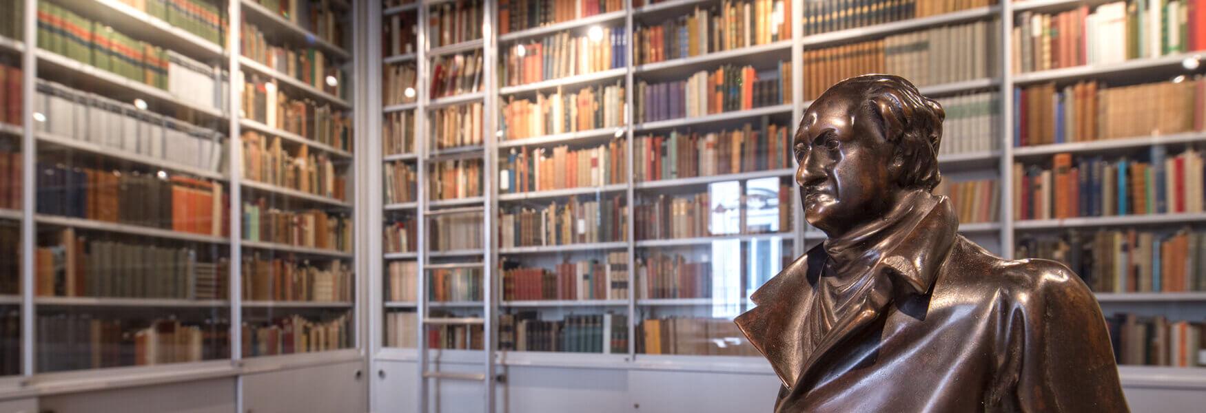 Casa di Goethe Bibliotheken
