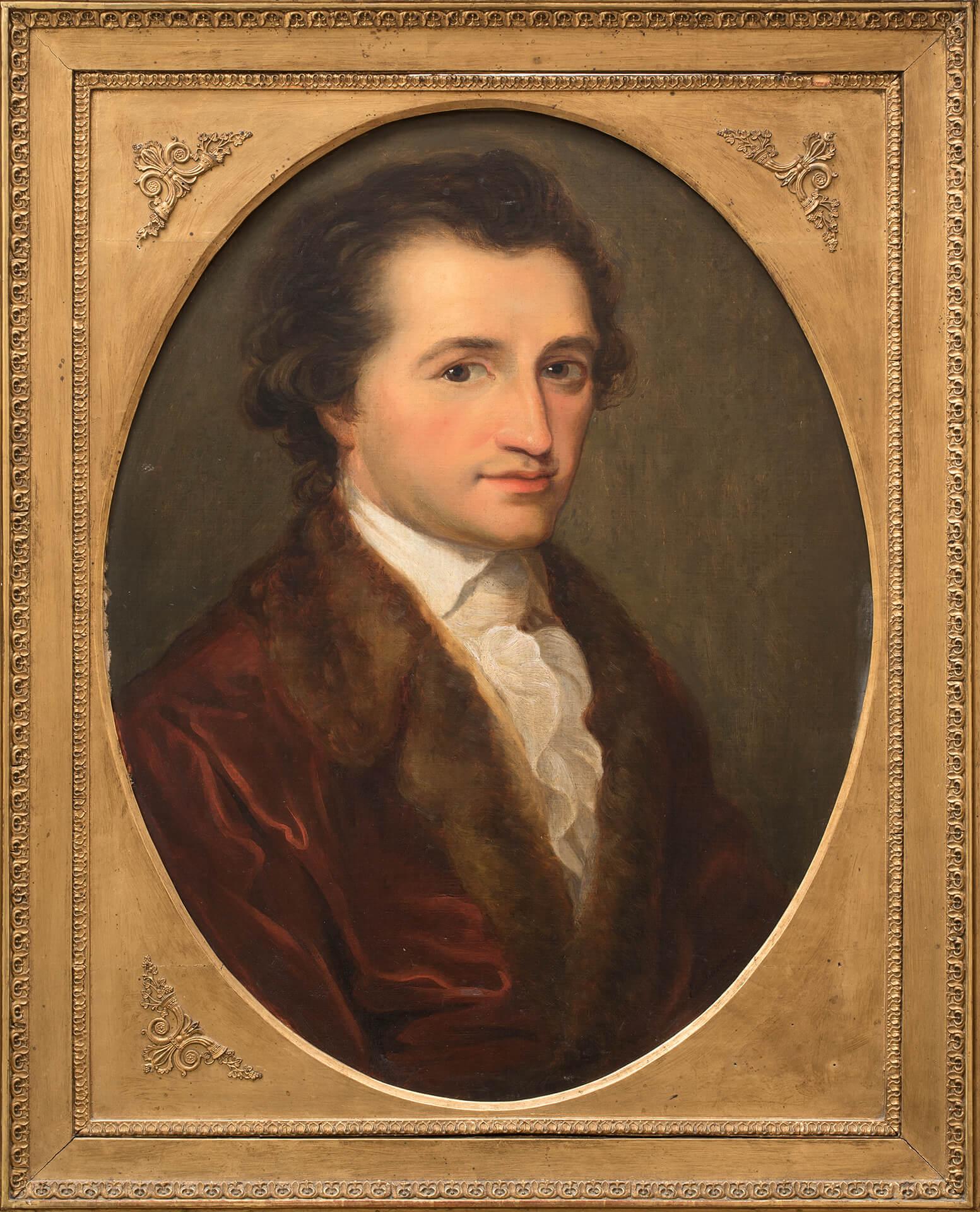 E. Ritschl da A. Kauffmann, Goethe. Seconda metà del XIX sec.