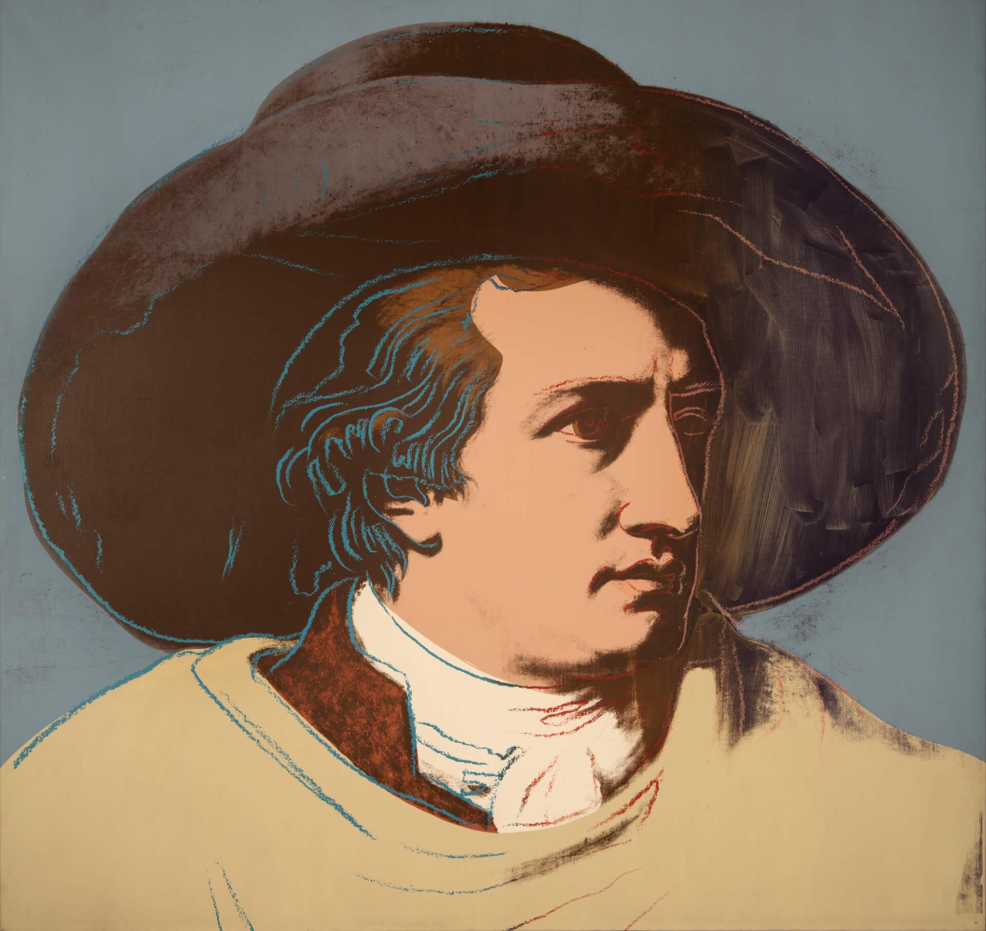 A. Warhol, Goethe. 1982